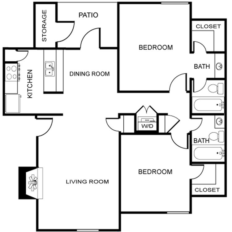 Floor plan image of The Leon