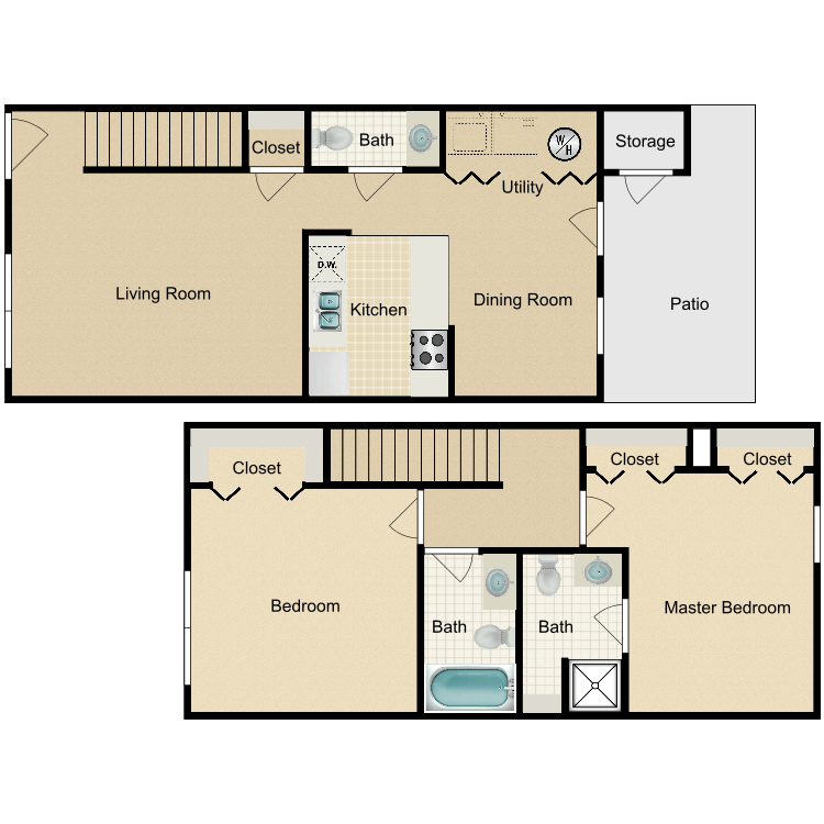Dogwood floor plan image