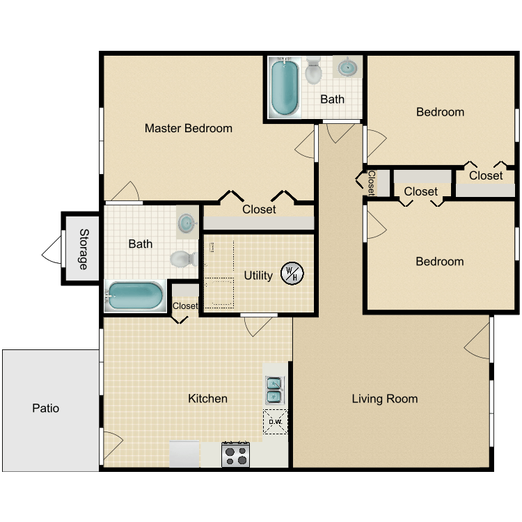 Pine floor plan image