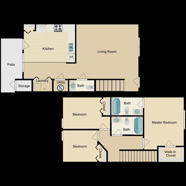 Trillium floor plan image