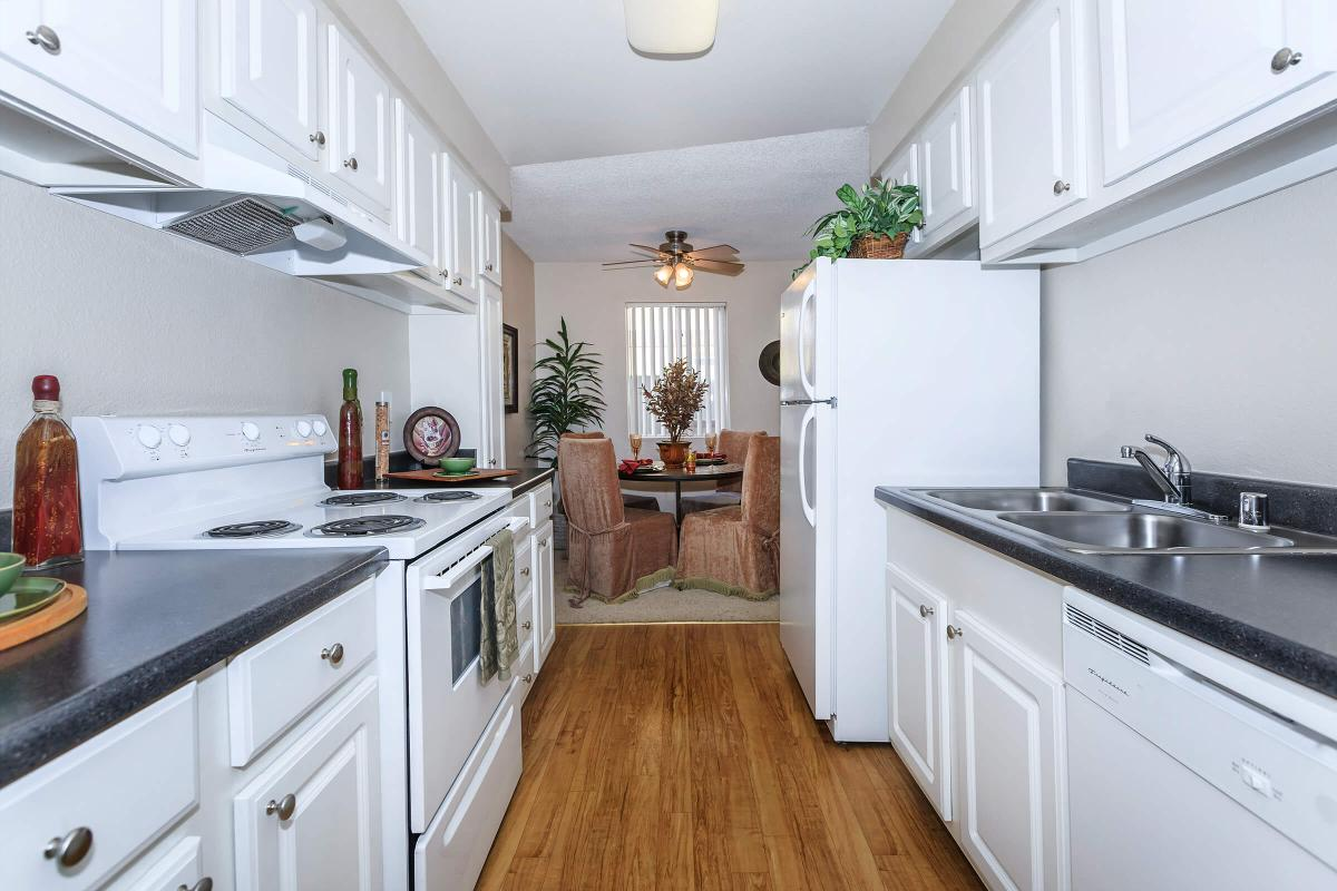 ALPINE VILLAGE PROVIDES YOU AN ALL-ELECTRIC KITCHEN