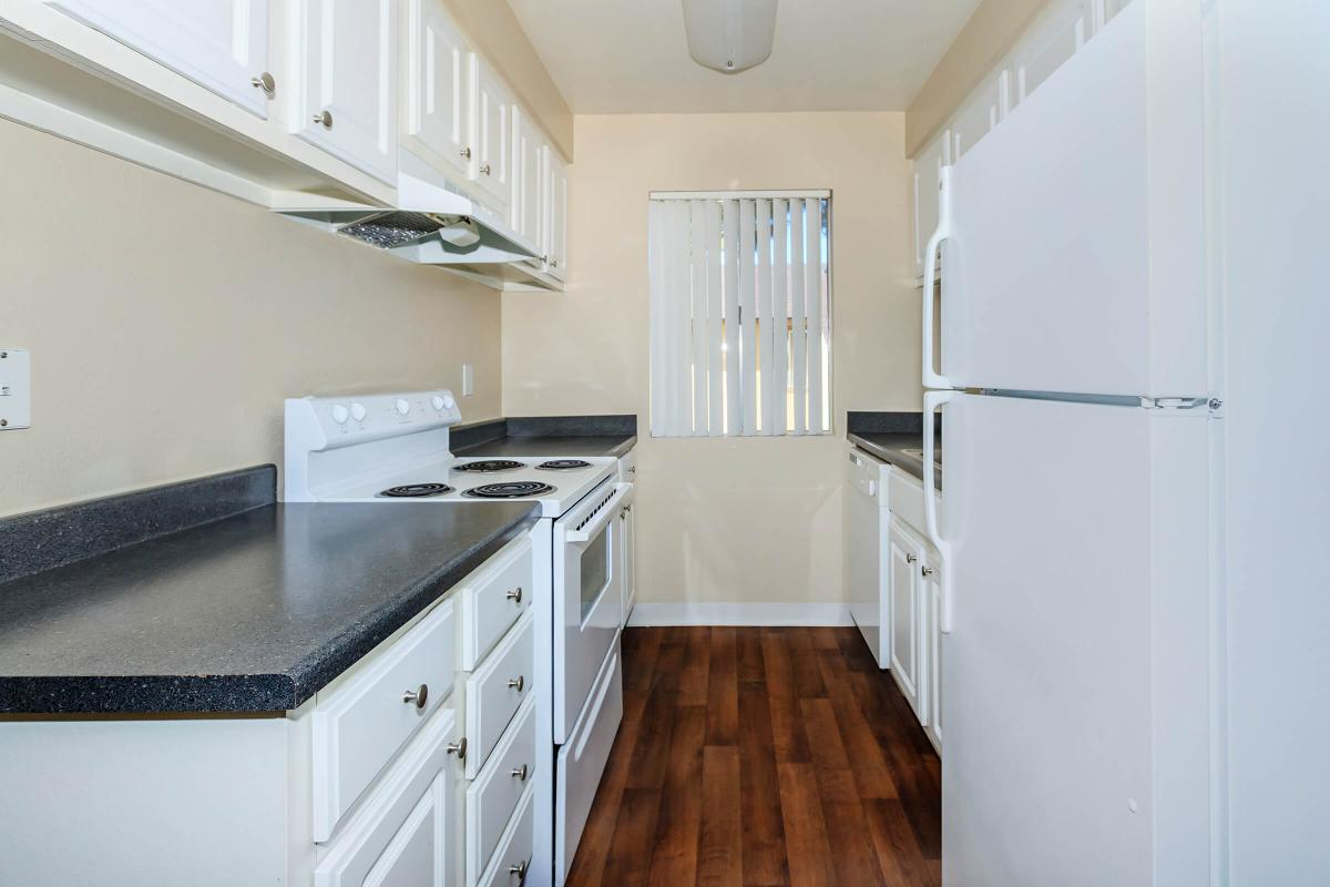 Alpine Village offers you a kitchen with plenty of prep space