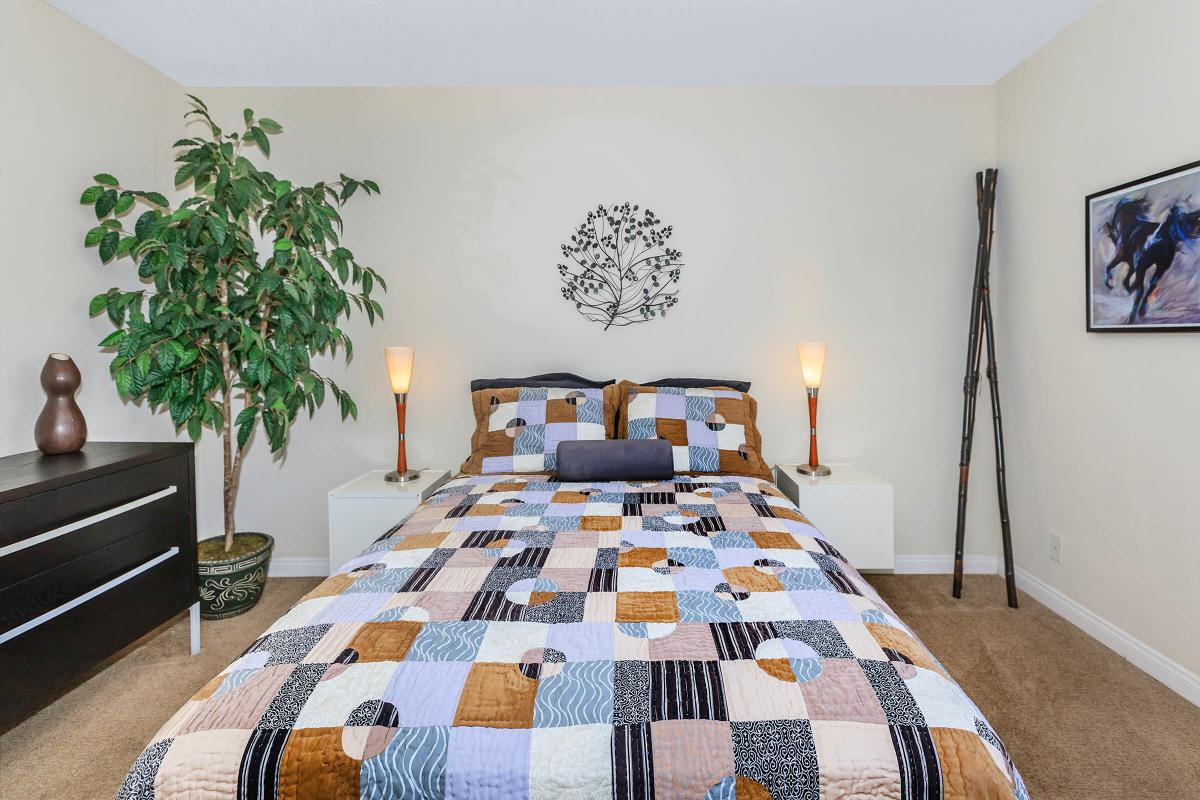Alpine Village offers you a cozy bedroom