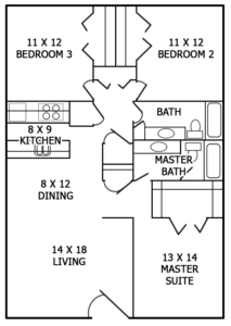 Floor plan image of C2R