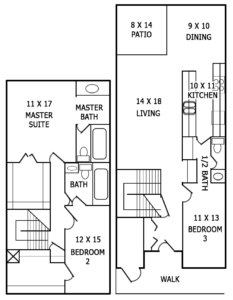 Floor plan image of C3