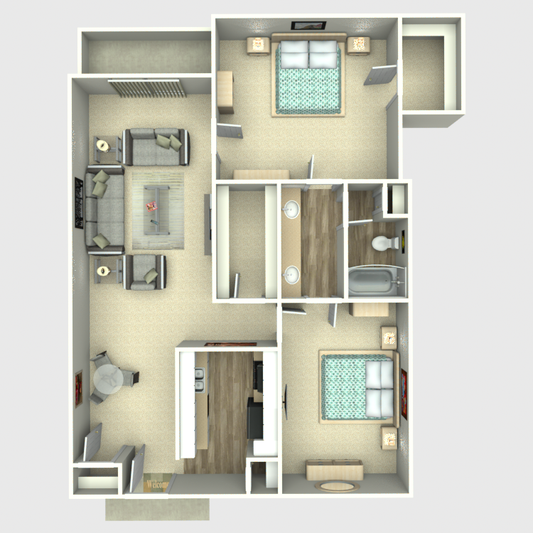Floor plan image of I