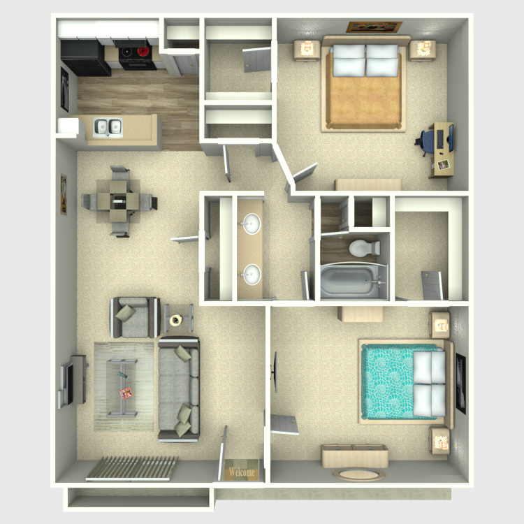 Floor plan image of H