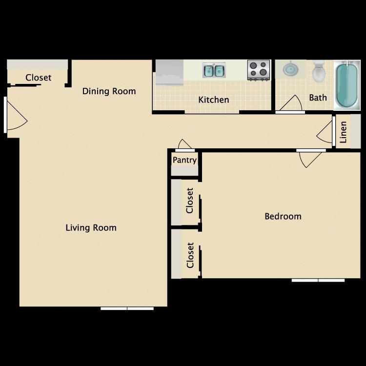 Floor plan image of Chattfield
