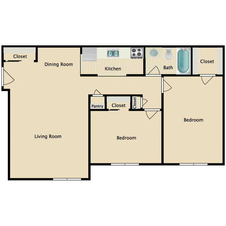 Floor plan image of Stratton