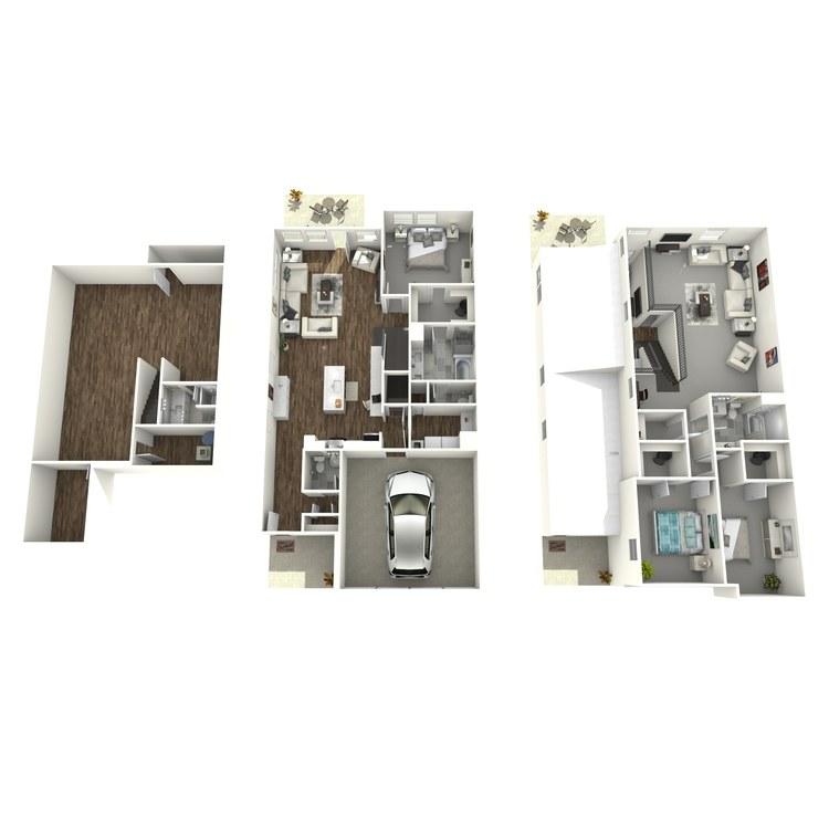 Floor plan image of Plan B-2