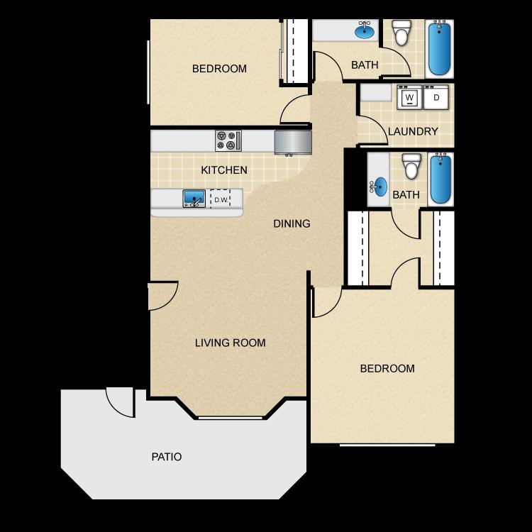 Alexander floor plan image