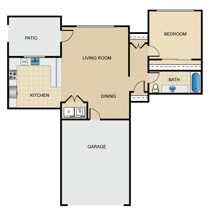 Barbera floor plan image
