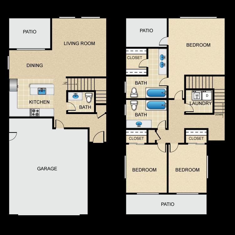 Helena floor plan image