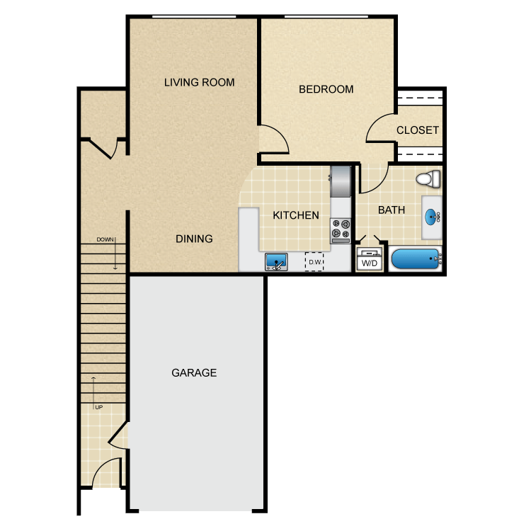 Ruche floor plan image