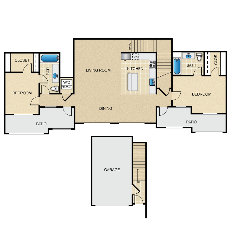 Rutherford floor plan image