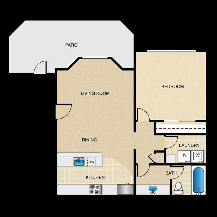 Solano floor plan image