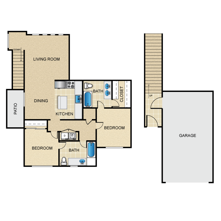 St. Laurent floor plan image