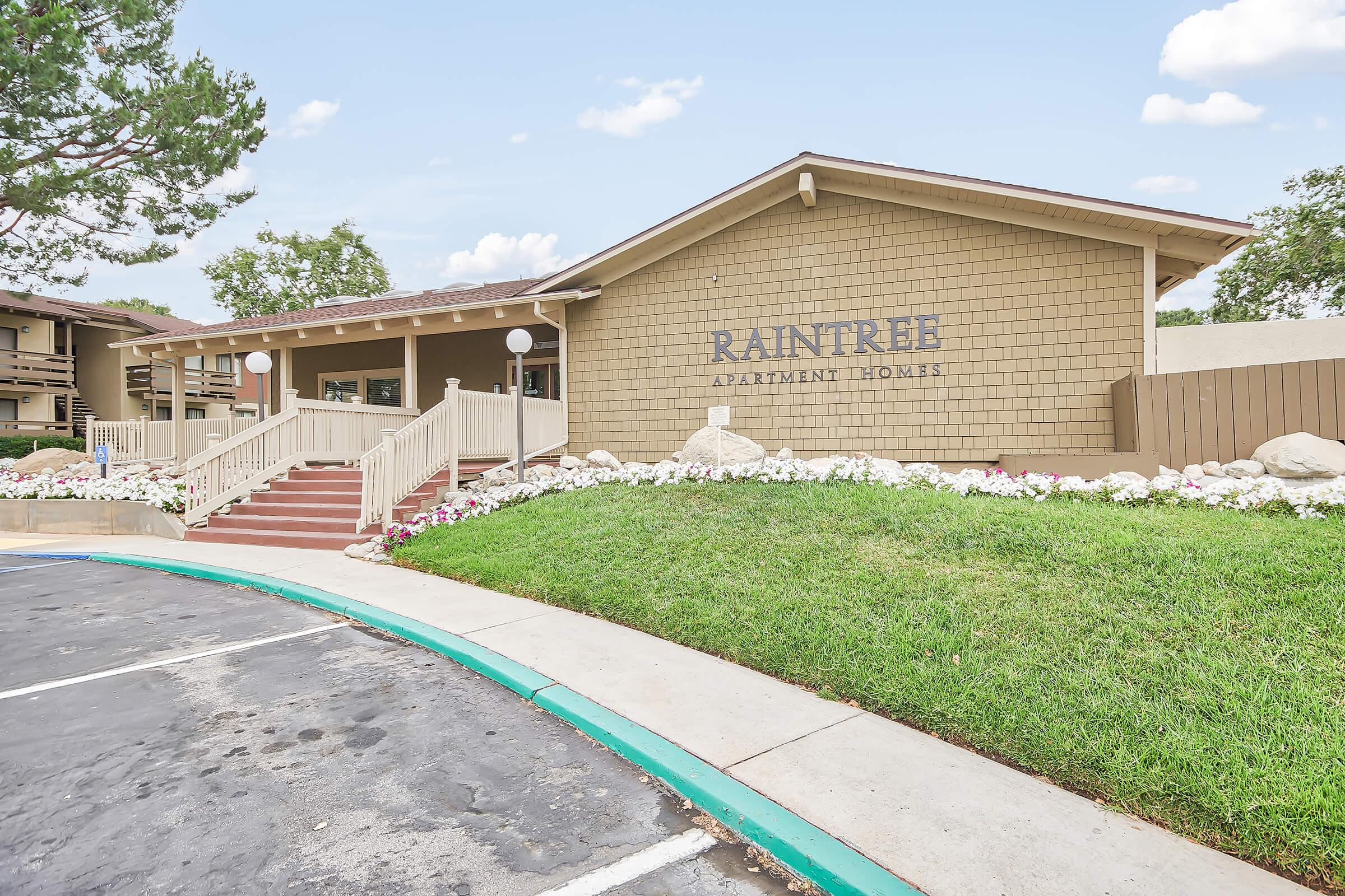 Raintree Apartment Homes leasing office