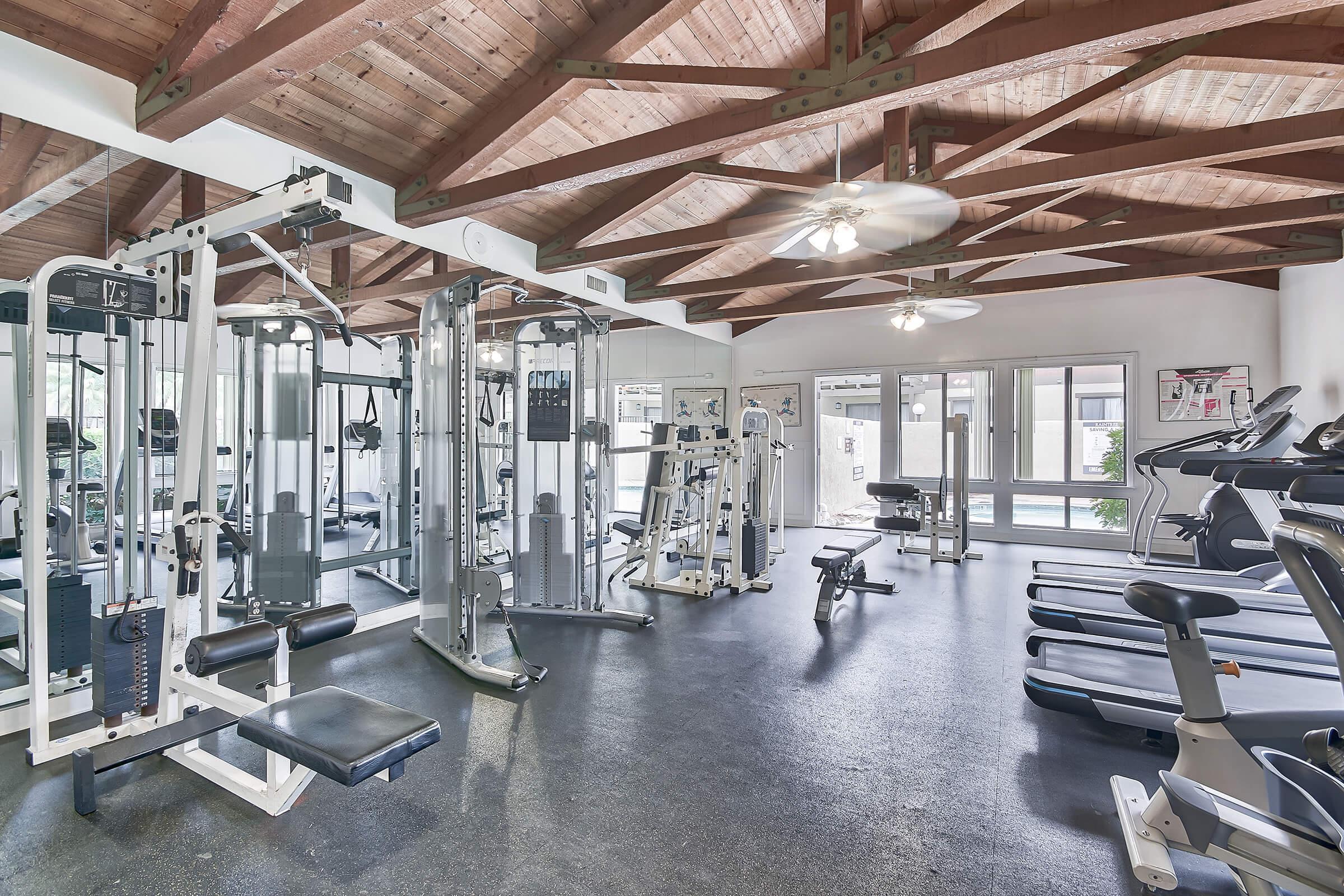 Raintree Apartment Homes community gym