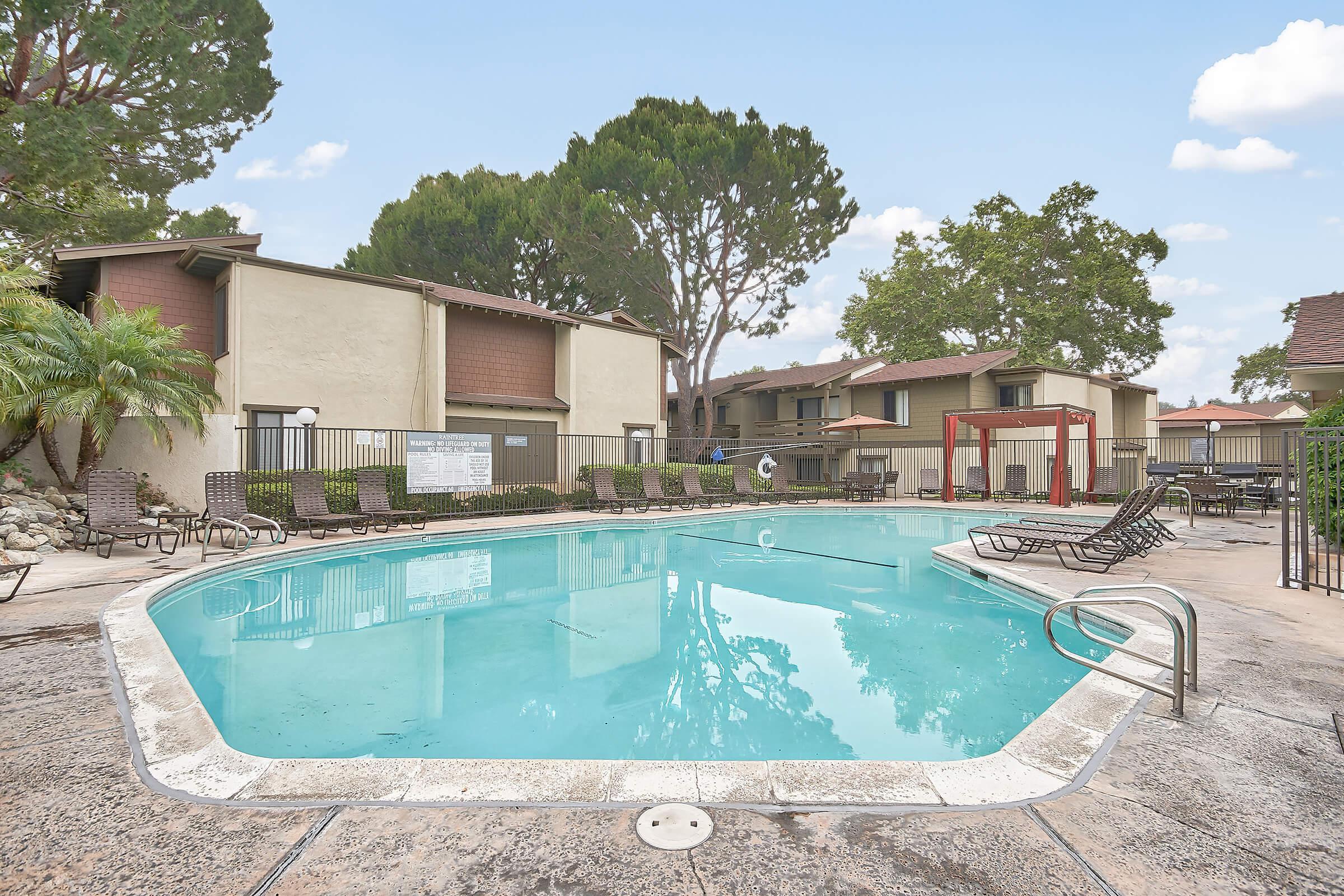 Raintree Apartment Homes community pool