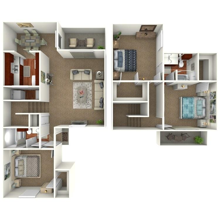 Floor plan image of C2S - Town Home