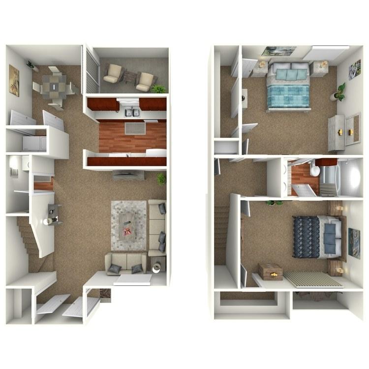 Floor plan image of B3S - Town Home