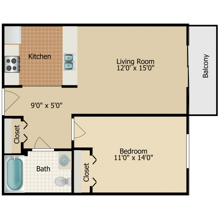 Floor plan image of The Lee