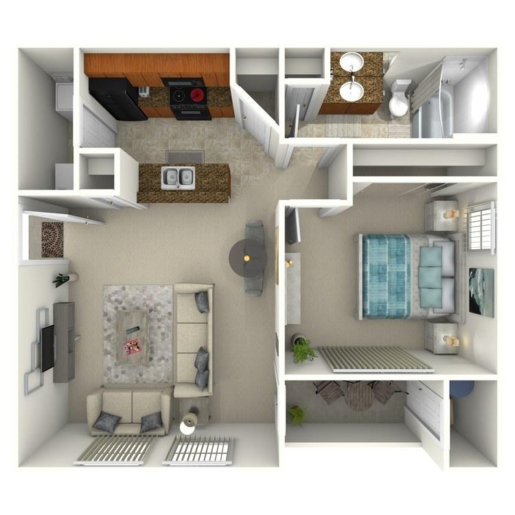 Floor plan image of Rosal
