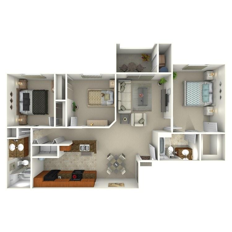 Floor plan image of Violetta