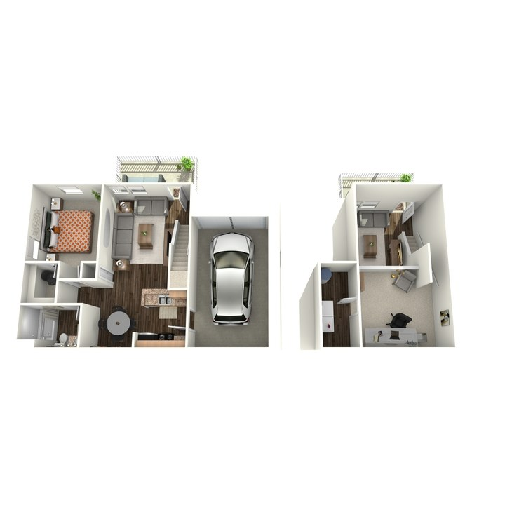 Floor plan image of A2THL (Townhome)