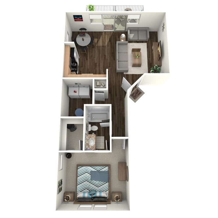 Floor plan image of A1 (Apartment)