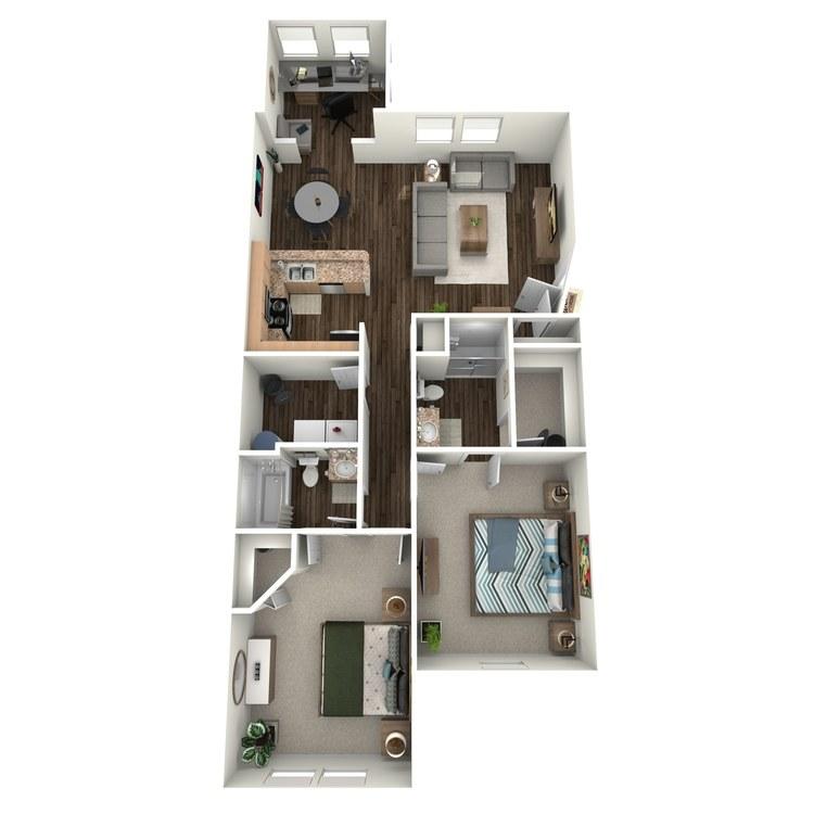 Floor plan image of B4 (Apartment)