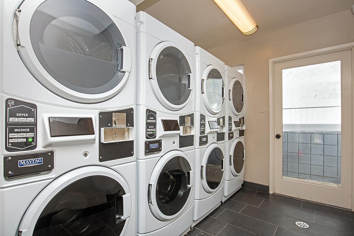 Laundry Facility at The Capri Glendale in Glendale, CA