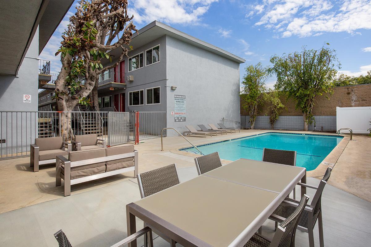 Take a Dip in our Shimmering Swimming Pool at Capri Glendale in Glendale, CA