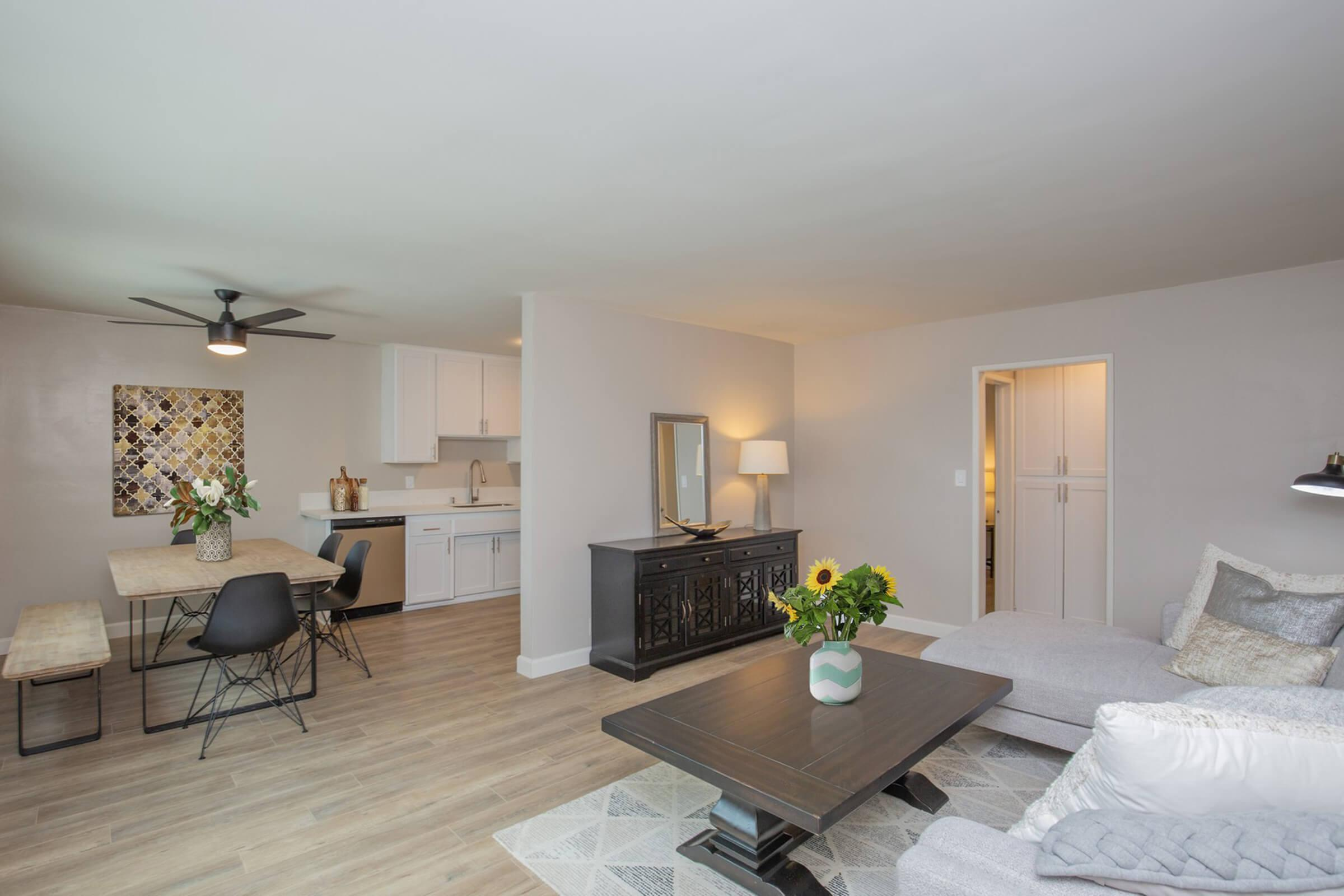LIGHT AND AIRY FLOOR PLAN AT THE CAPRI GLENDALE