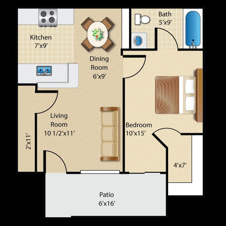 Floor plan image of Plan A Ground Floor
