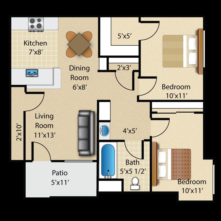 Floor plan image of Plan B Ground Floor