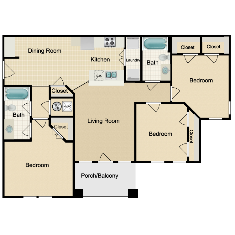Floor plan image of C1