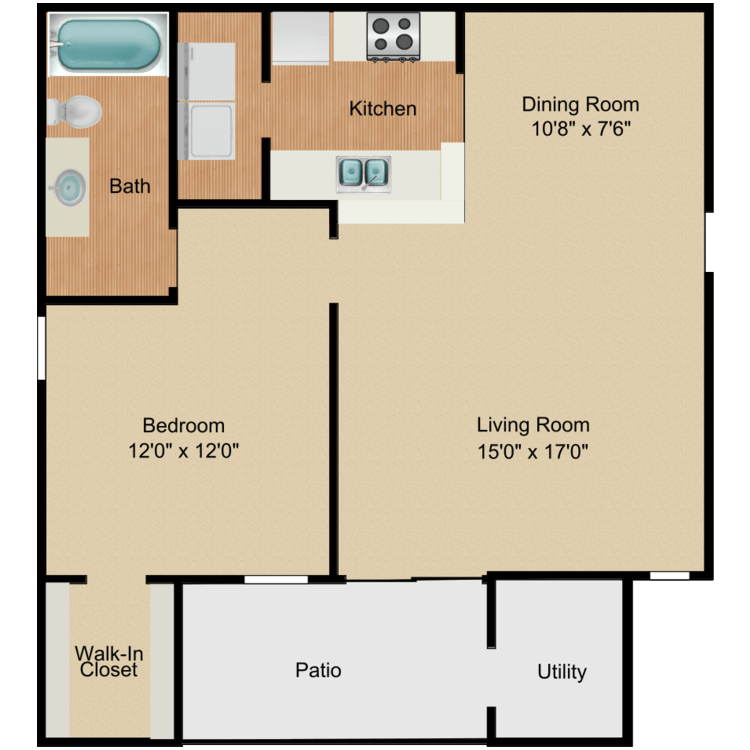 Floor plan image of Riverbirch