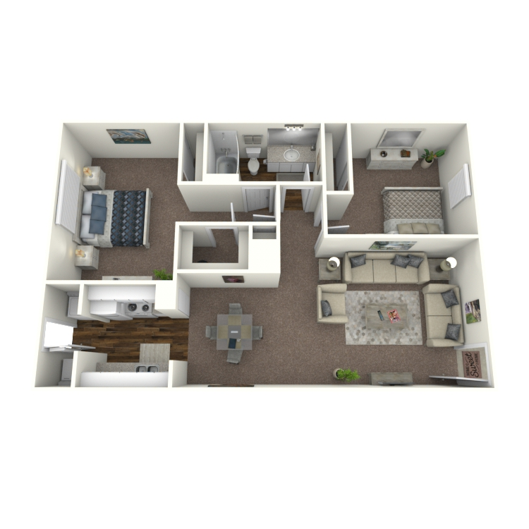 Floor plan image of Plan D1