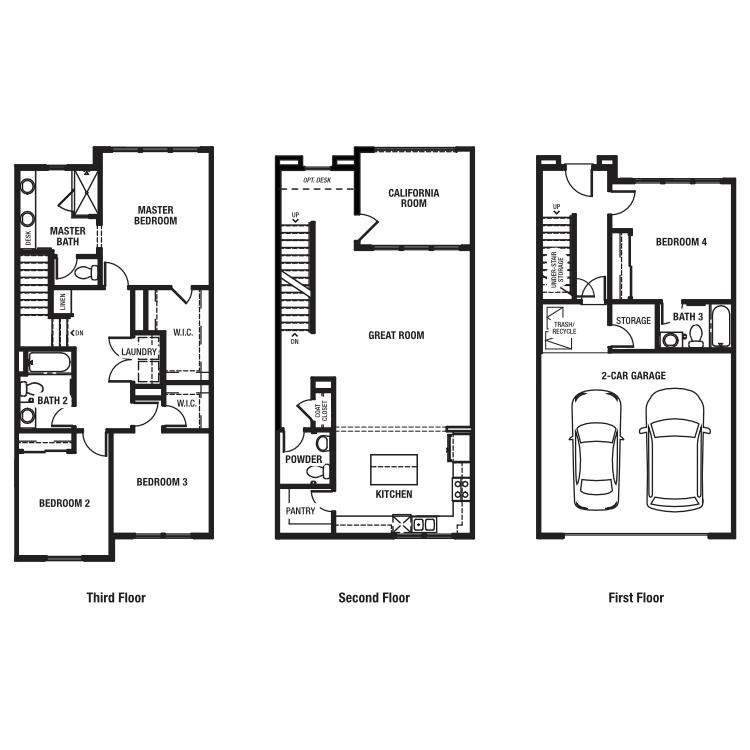 Residence Plan 2 floor plan image