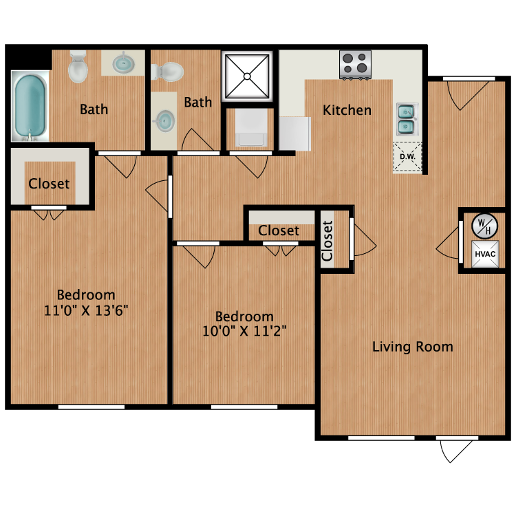 Floor plan image of Monet