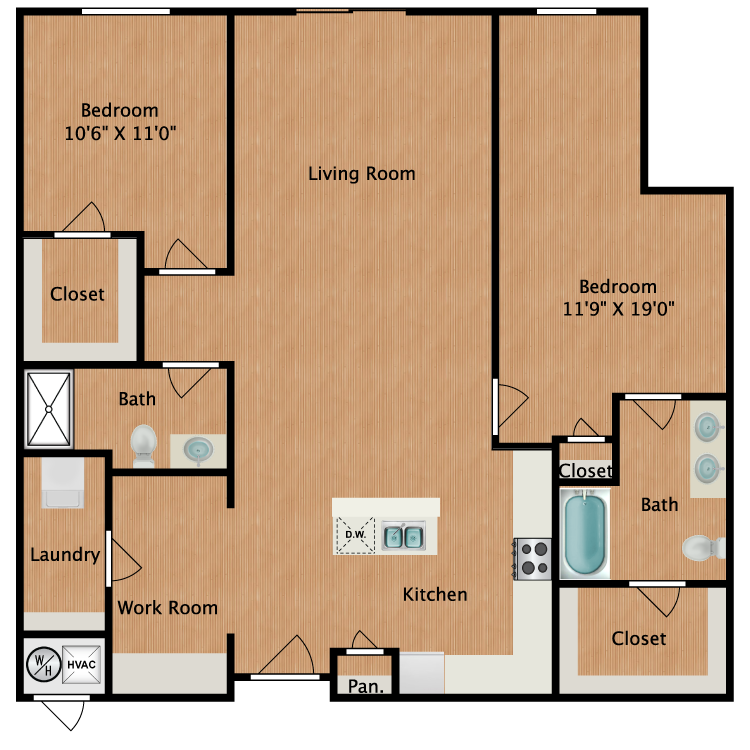 Floor plan image of Plan B4