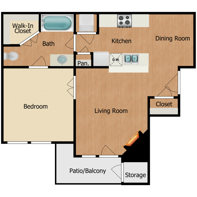 Floor plan image of Aslace