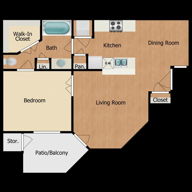 Floor plan image of Bordueax