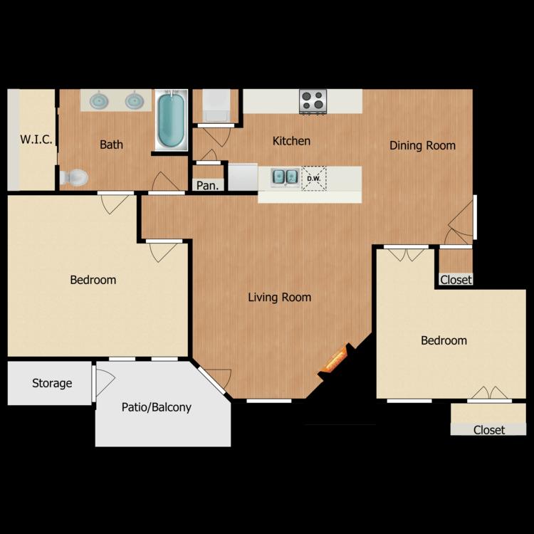 Floor plan image of Deauville