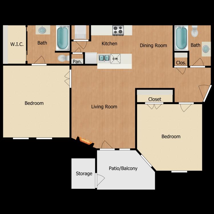 Floor plan image of Enclave