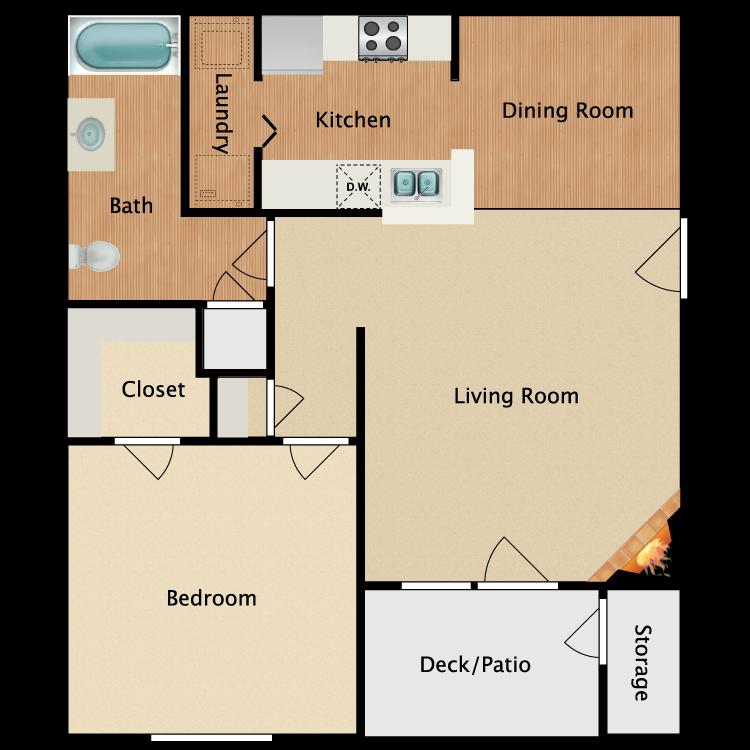 Floor plan image of Hartwell
