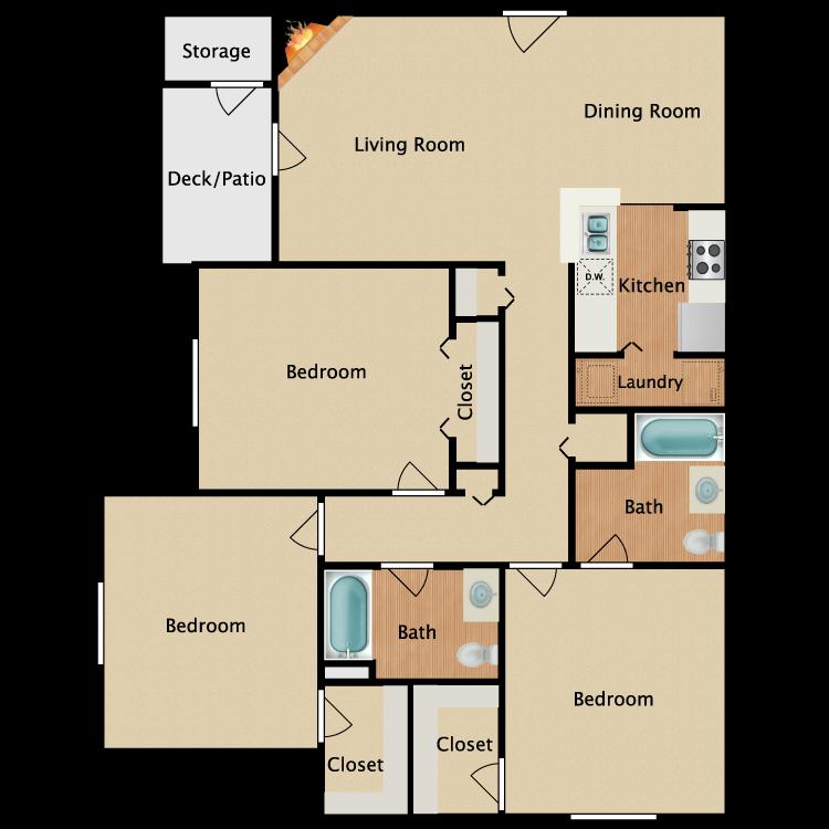 Floor plan image of Myrtle