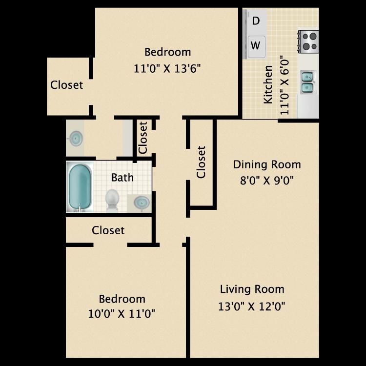 Floor plan image of Gulf Breeze